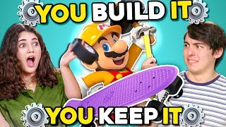 Video Can YOU Build A Skateboard In 30 Minutes? | You Build It, You Keep It MP3, 3GP, MP4, WEBM, AVI, FLV Agustus 2019