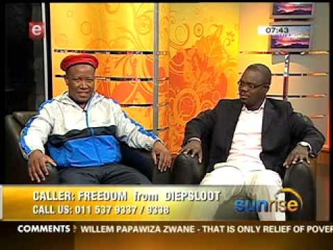 Julius Malema On Sunrise Talking About  Eff Part 2 Of 3