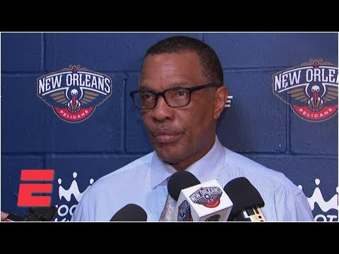 Video: Alvin Gentry explains Anthony Davis' minutes restriction in win over Timberwolves| NBA on ESPN