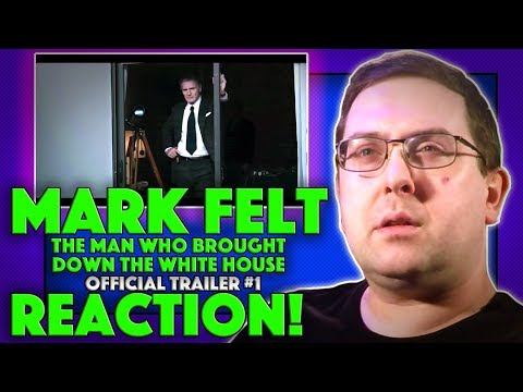 REACTION! Mark Felt: The Man Who Brought Down The White House Trailer #1 - Liam Neeson Movie 2017