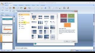 Microsoft PowerPoint 2007 pt 2 (Exam prep, Action buttons&more)
