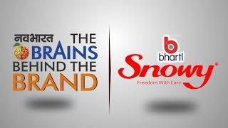 Snowy, भारती हायजिन केयर का स्नोई सेनेटरी नैपकीन, पुरे देश में एक ब्रांड बन चूका है