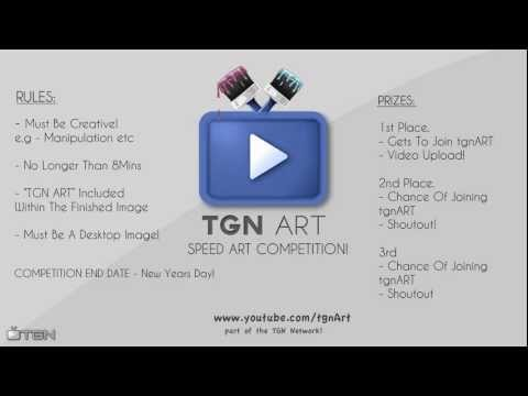 tgnArt - This is tgnARTS first speedart competition! vv Ruels! - Must Be Creative! - No Copyrighted Music! - TGNART Included In The Final Image! Prizes! 1st Place - G...