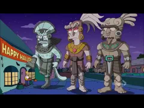 The Pillar Men portrayed by The Simpsons - смотреть онлайн на Hah Life