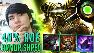 Hey guys Youmuus here and today we have another REVOLUTIONARY and in no way troll pick :^) Urgot support ! Urgot's E...