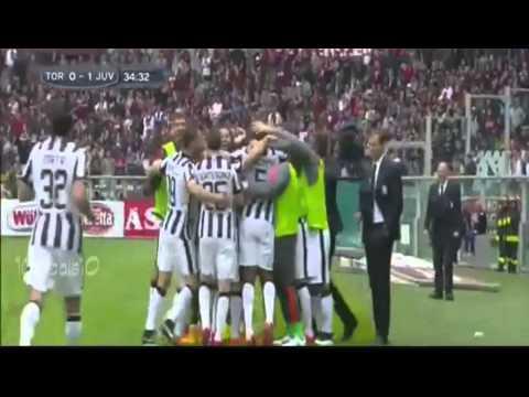 derby della mole 2015 - amazing free kick by andrea pirlo