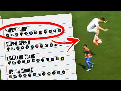 FIFA 17 CHEAT CODES!!!