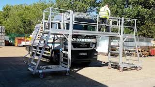 BridgeDeck - for Heavy Vehicle Maintenance and Cleaning and More