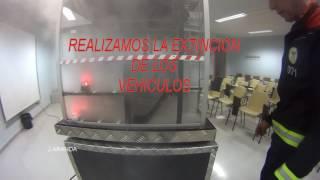 Garaje extracción de humo con ventilación