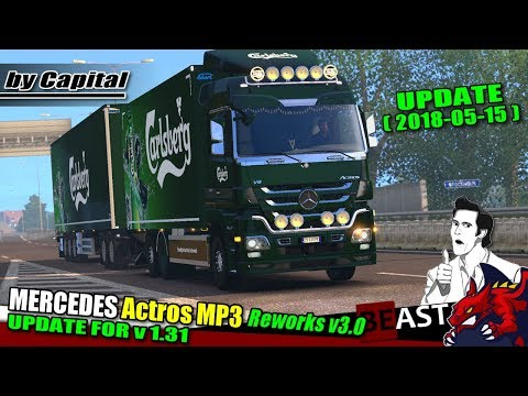 Rigid Chassis for Mercedes Actros MP3 Reworks – ByCapital v3.0