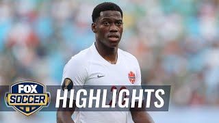 Jonathan David's hat trick gives him Golden Boot lead | 2019 CONCACAF Gold Cup Highlights by FOX Soccer