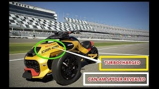 9. Turbocharged Can Am Spyder Revealed