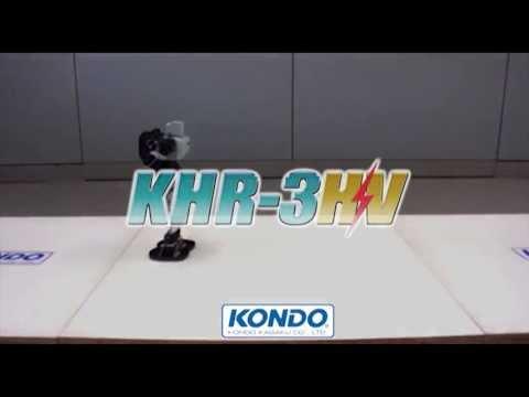 KHR-3HV キット標準デモ