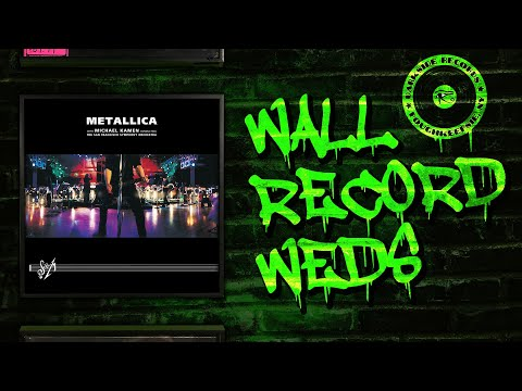 "Wall Record Wednesday- Metallica ""S&M"" Vinyl Box Set"