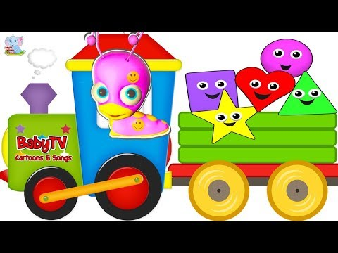BABY TV LITTLE TULLI -Learn colors Learn shapes Surprise Cartoons for children