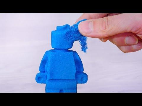 I Tried Making Kinetic Sand!