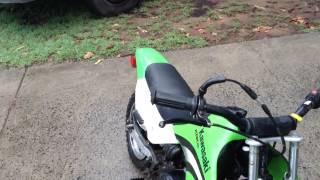 9. Kawasaki kdx 50