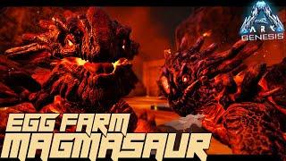 MAGMASAUR EGG FARM!! - Ark Genesis [#15]