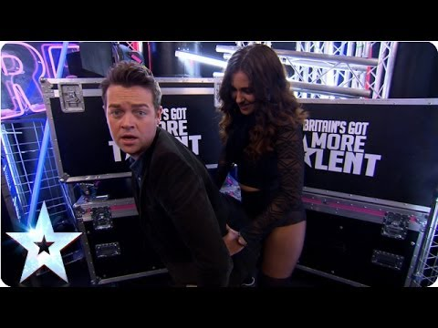 Stephen - Move over Miley Cyrus, BGMT's Stephen Mulhern has been taking twerking lessons with one of our dancing acts - Katie May O'Hanlon. Warning - you cannot unsee ...