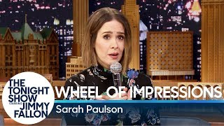 Video Wheel of Impressions with Sarah Paulson MP3, 3GP, MP4, WEBM, AVI, FLV Januari 2019