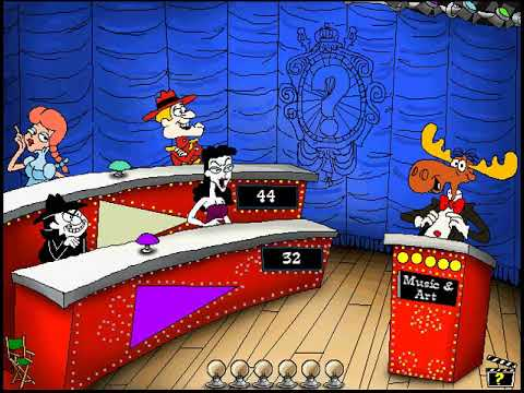 Rocky and Bullwinkle's know it all quiz game episode 9