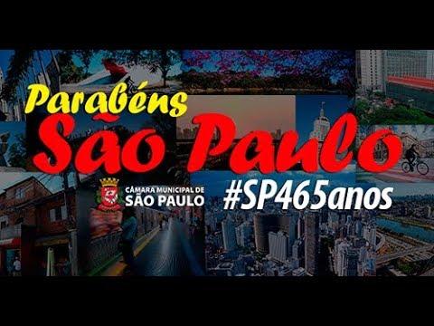 Parabéns, São Paulo! São 465 anos da maior cidade do Brasil!
