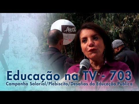 Campanha Salarial / Plebiscito / Desafios da Educação Pública