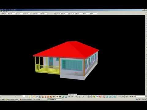 DataCad 3D musings 1 The Hood model