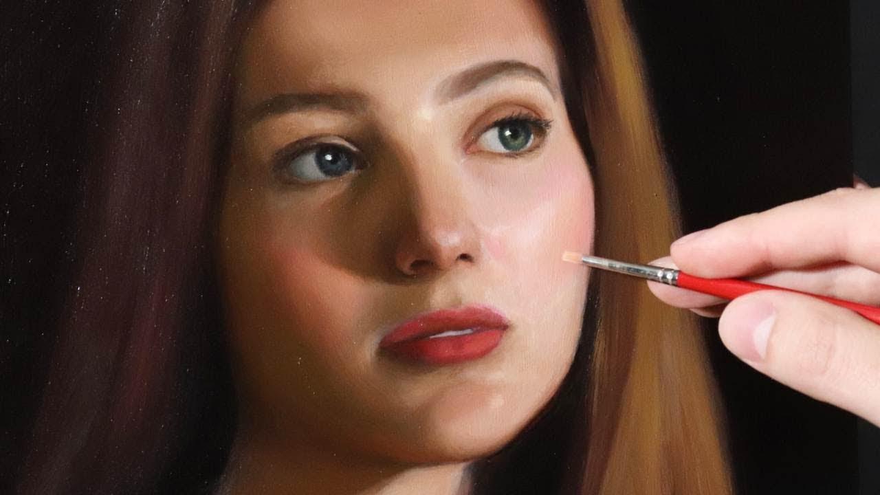 portrait painting tutorial by yupari
