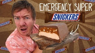 The Emergency Snickers Loaf by  My Virgin Kitchen