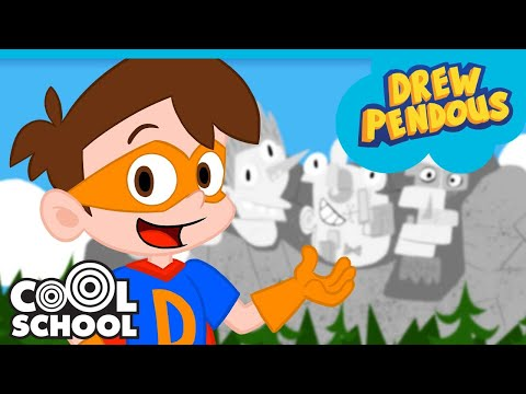 Super Drew's Favorite Field Trips! Stupendous Drew Pendous Travels the WORLD! | Cartoons for Kids