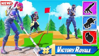 GOLF for YOUR GUNS *NEW* Fortnite Battle Royale Custom Game