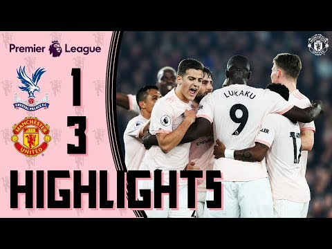 Highlights | C. Palace 1-3 Manchester United | Lukaku & Young fire Reds to record-breaking away win
