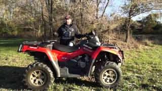 8. 2009 Can-Am Outlander 500 Max-XT