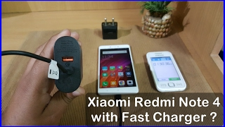 Hello guys in this video you will see the charging speed test of Xiaomi Redmi Note 4 with Qualcomm certified QuickCharge 3.0 charger. Buy Redmi Note 4 (3gb R...