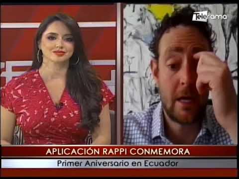 Aplicación Rappi conmemora primer aniversario en Ecuador