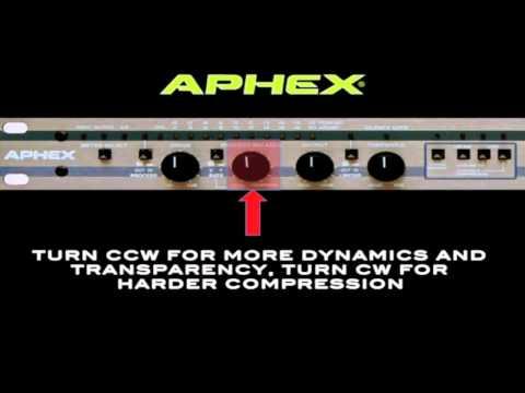 Aphex 320D Compellor Training Video