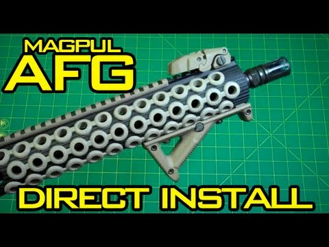 mustyyeti - I had plenty of people ask for it so here it is, a video showing how to directly install the Magpul AFG to the Troy Industries Alpha Rail. There isn't a lot ...