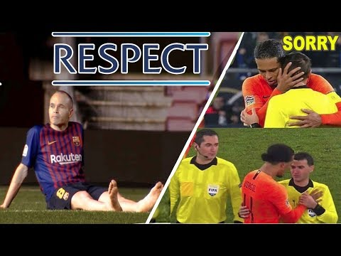 The Most Emotional & Beautiful Moments In Football  ● 2018-2019 [HD] #RESPECT