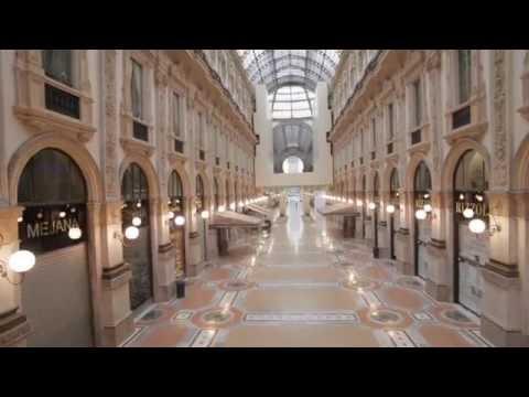 Il restauro della Galleria di Milano