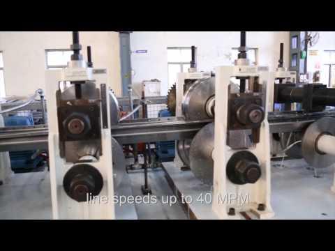 Samco Machinery Upright Post Rollformer