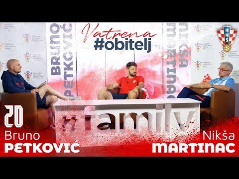 Vatrena #obitelj: Bruno Petković i Nikša Martinac