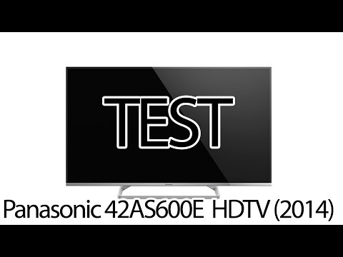 Test Panasonic 42AS600E Smart TV 2014