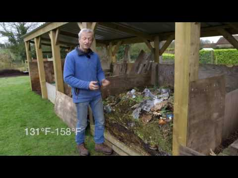Making compost from garden and other wastes, the principles and some results