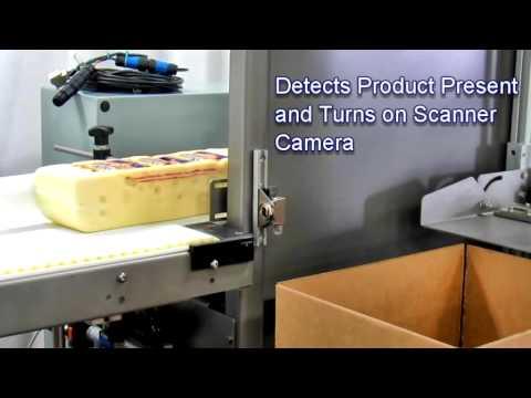 2-EZ® HS Ergopack Barcode Scanner Cheese