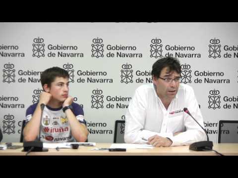 Rueda Prensa Dani Ruiz con la FMI y el Circuito de Navarra