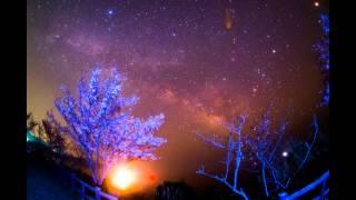 "Milky Way and ""Sakura""  桜と天の川銀河 :三重周辺の星空#02(修正版)"