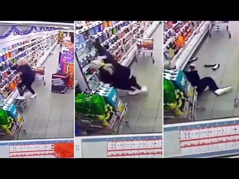 Vreemd geval in supermarkt