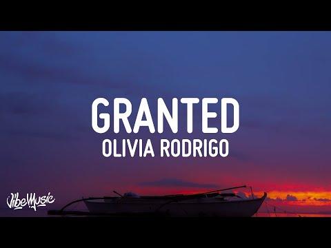 Olivia Rodrigo - Granted (Lyrics) | High School Musical: The Series (Season 2)