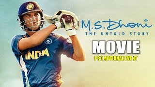 Nonton Ms Dhoni   The Untold Story  Movie 2016   Promotional Events   Sushant Singh Rajput  Disha Patani Film Subtitle Indonesia Streaming Movie Download